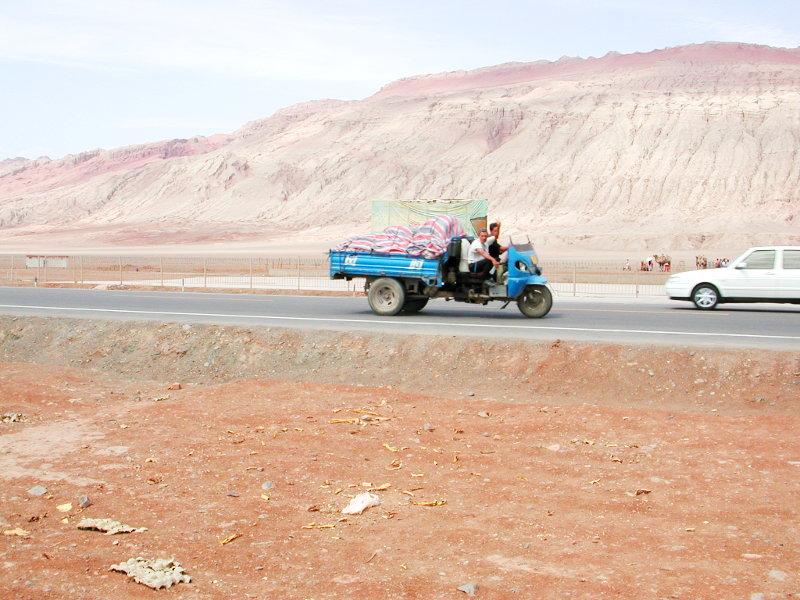 シルクロード一人旅「我的長征2006」その25・トルファン・火焔山-2520