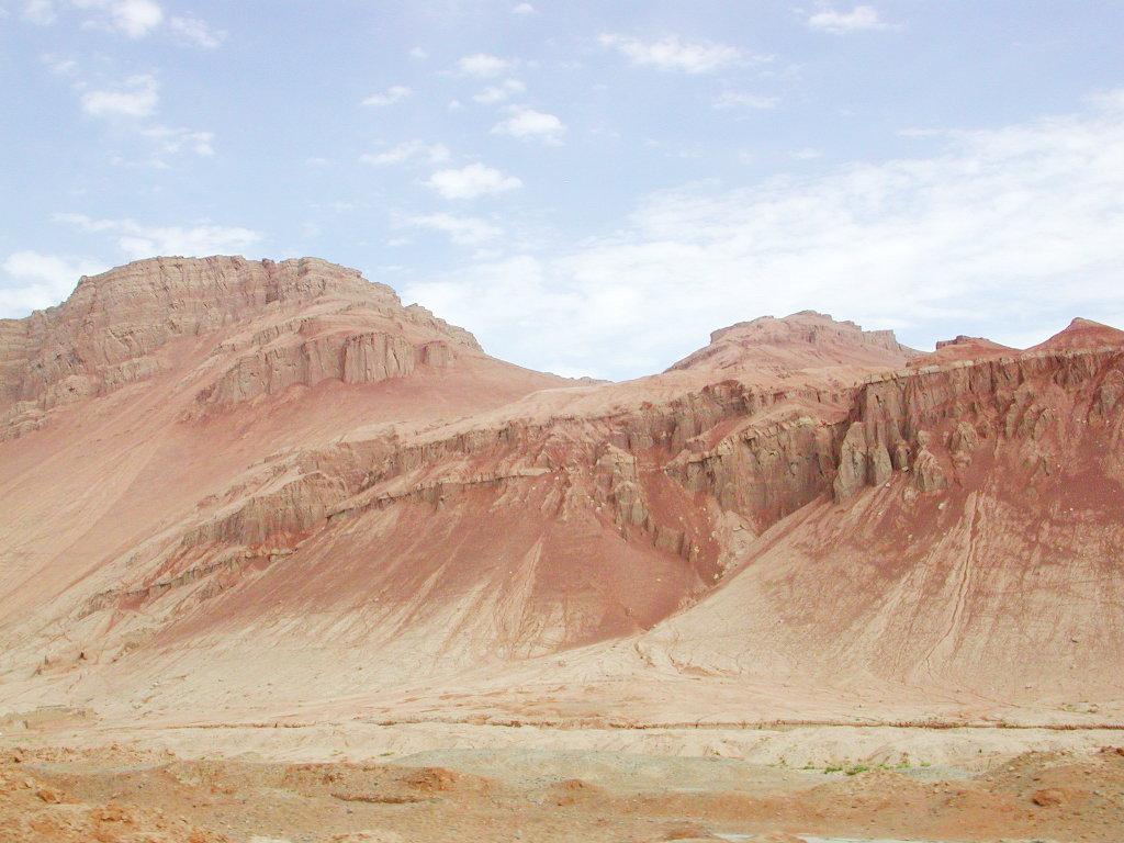 シルクロード一人旅「我的長征2006」その25・トルファン・火焔山-2525