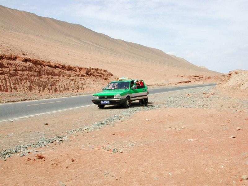 シルクロード一人旅「我的長征2006」その26・トルファン・吐峪溝-2607