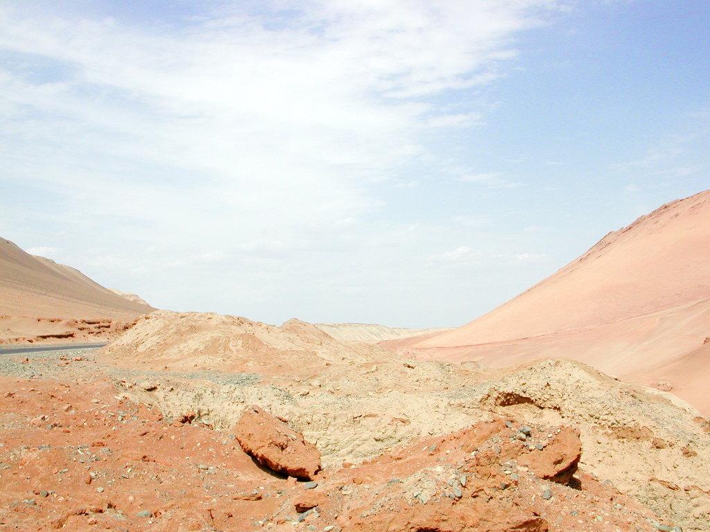 シルクロード一人旅「我的長征2006」その26・トルファン・吐峪溝-2608