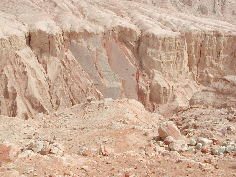 シルクロード一人旅「我的長征2006」その26・トルファン・吐峪溝-2613