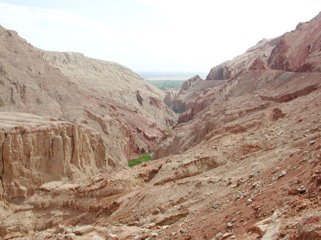 シルクロード一人旅「我的長征2006」その26・トルファン・吐峪溝-2615