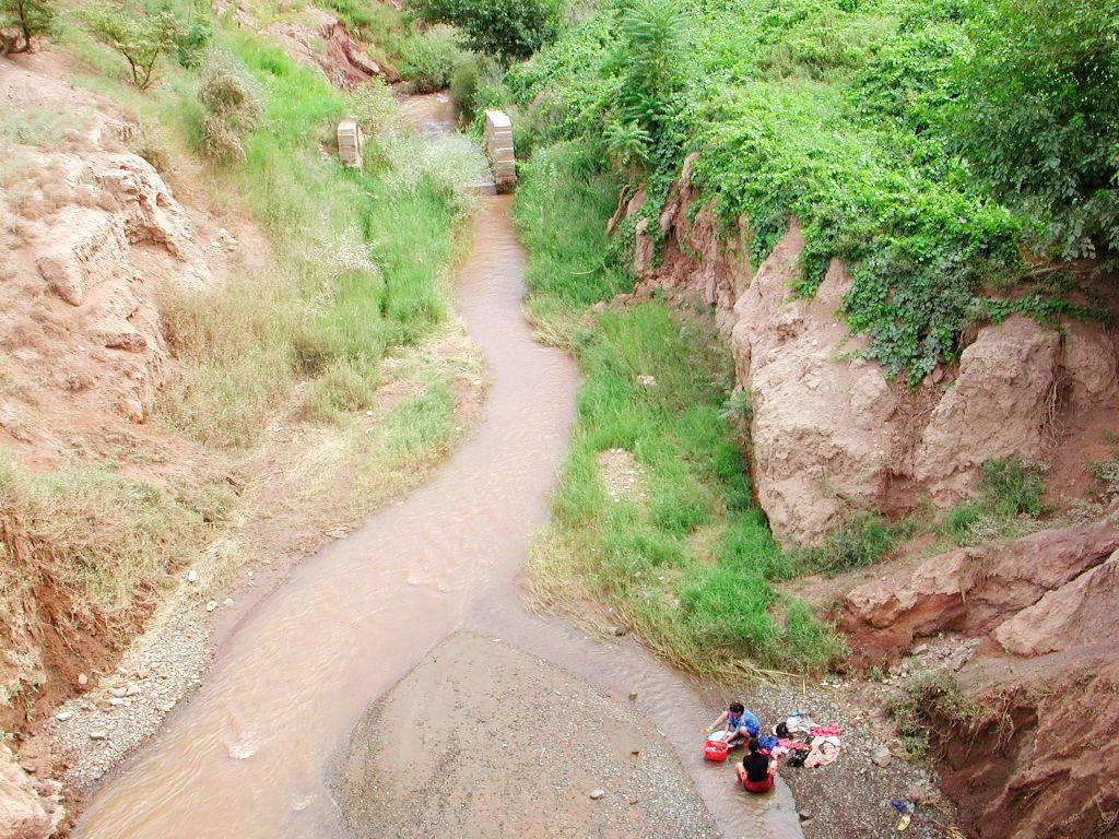 シルクロード一人旅「我的長征2006」その26・トルファン・吐峪溝-2629
