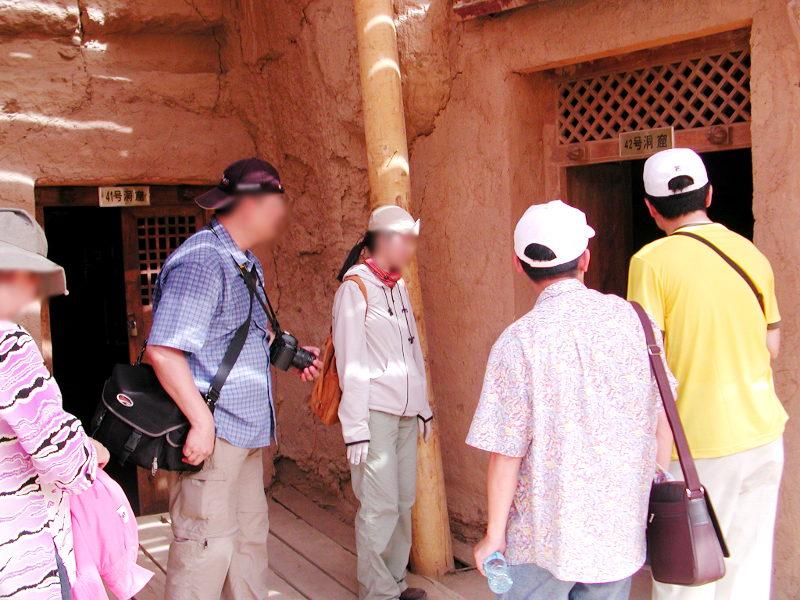シルクロード一人旅「我的長征2006」その27・トルファン・吐峪溝-2710