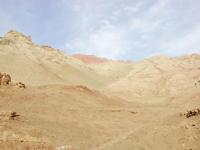 シルクロード一人旅「我的長征2006」その27・トルファン・吐峪溝-2718