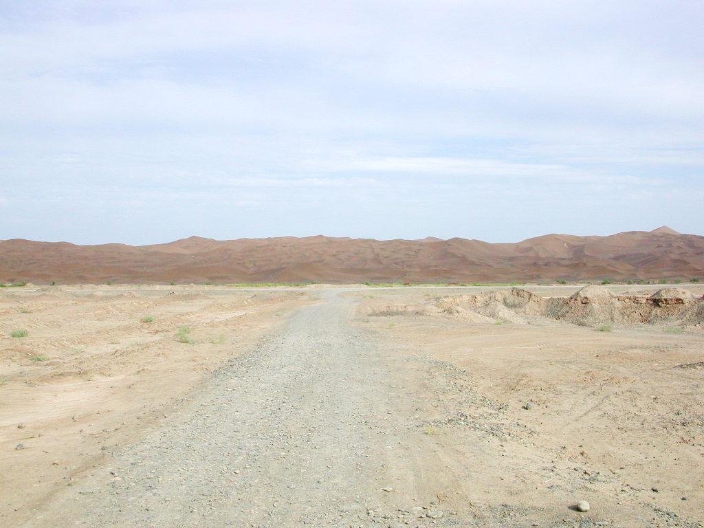 シルクロード一人旅「我的長征2006」その28・トルファン・沙山公園-2804