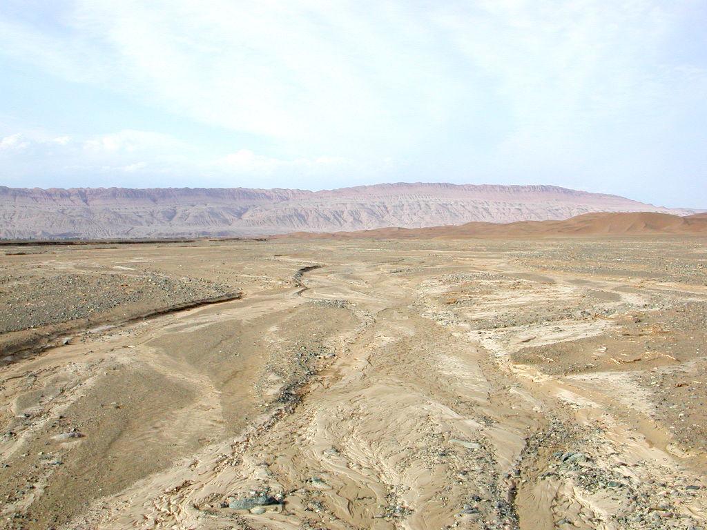 シルクロード一人旅「我的長征2006」その28・トルファン・沙山公園-2809