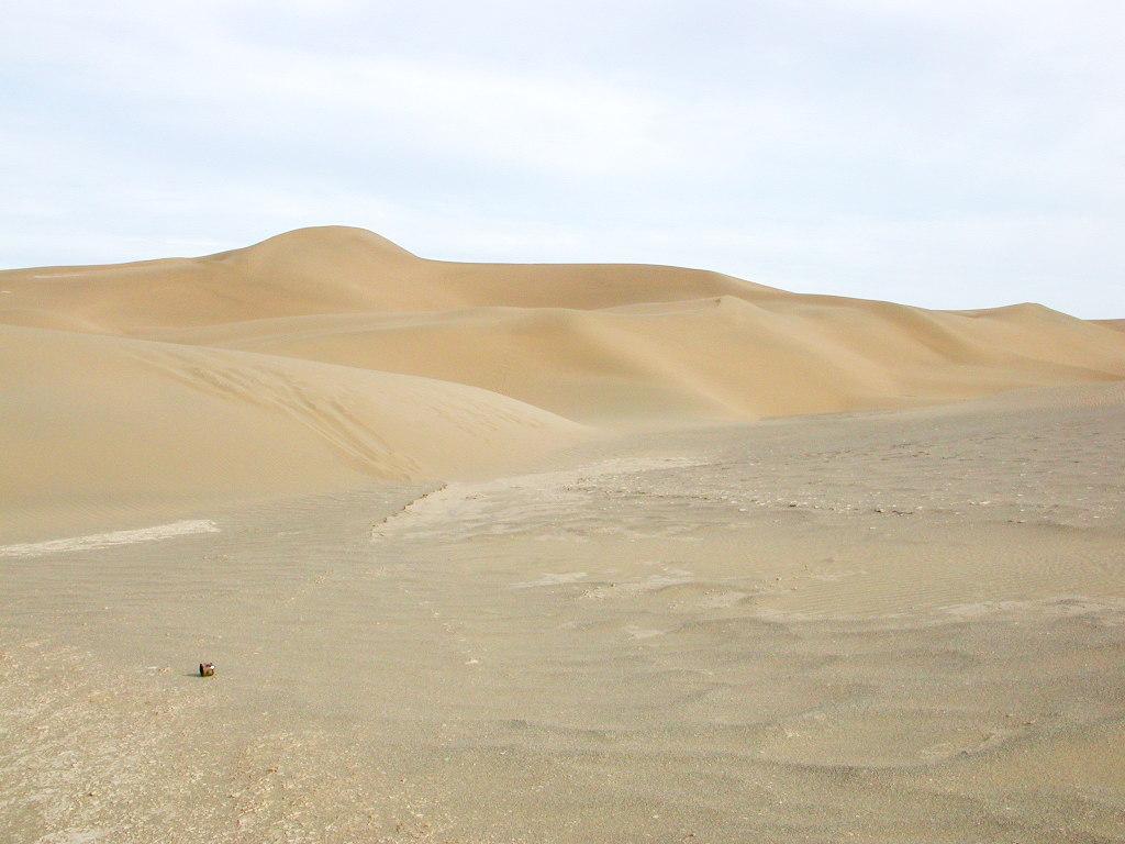シルクロード一人旅「我的長征2006」その28・トルファン・沙山公園-2811