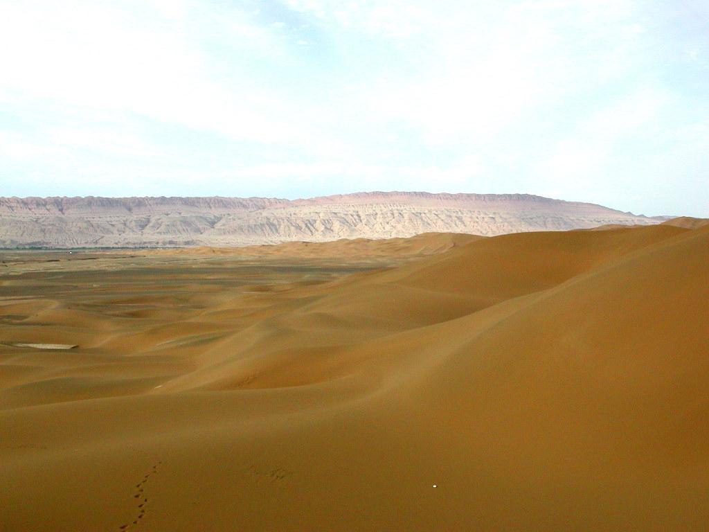 シルクロード一人旅「我的長征2006」その28・トルファン・沙山公園-2826