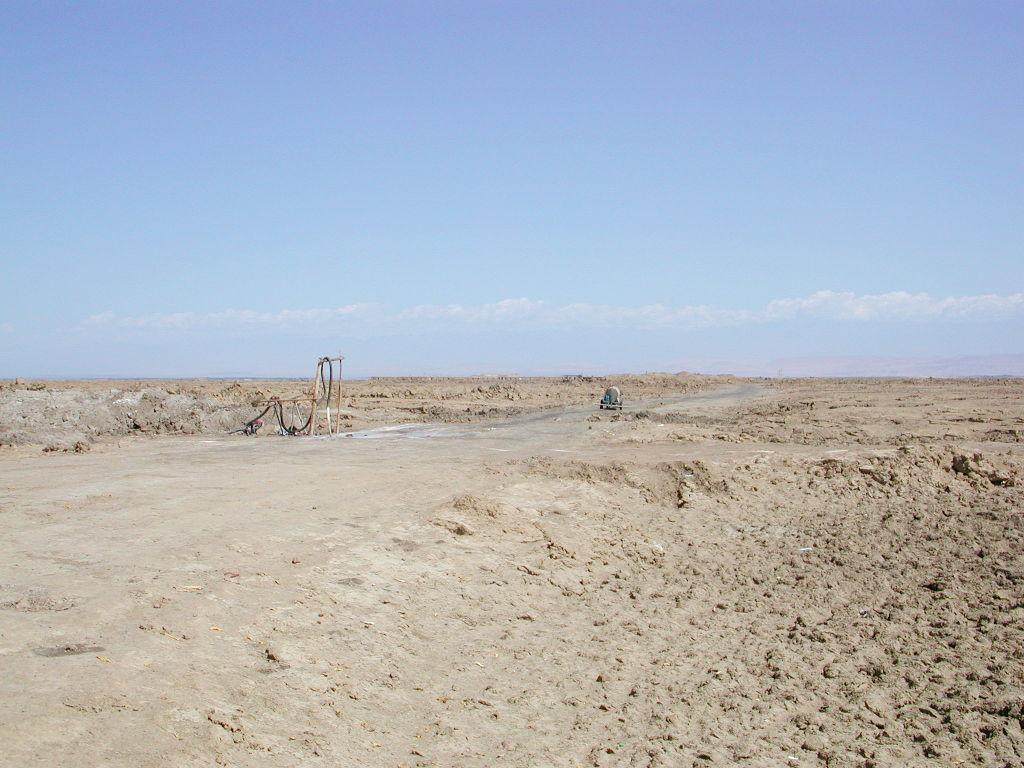 シルクロード一人旅「我的長征2006」その30・トルファン・艾丁湖-3012