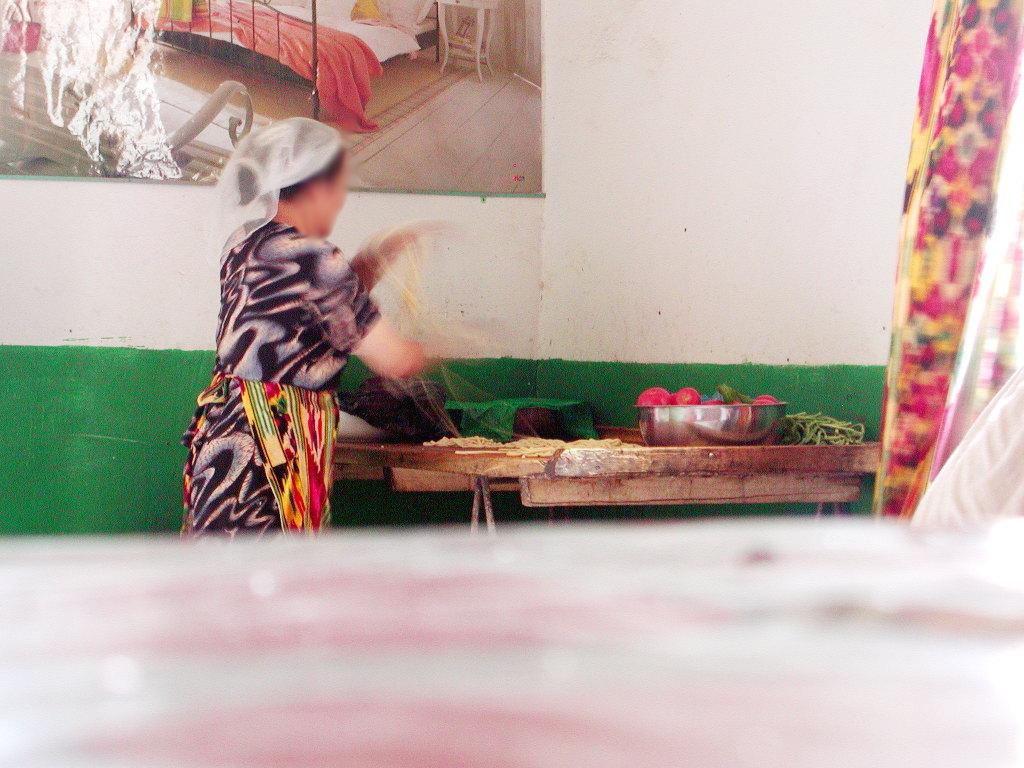 シルクロード一人旅「我的長征2006」その31・トルファン・高昌故城-3105