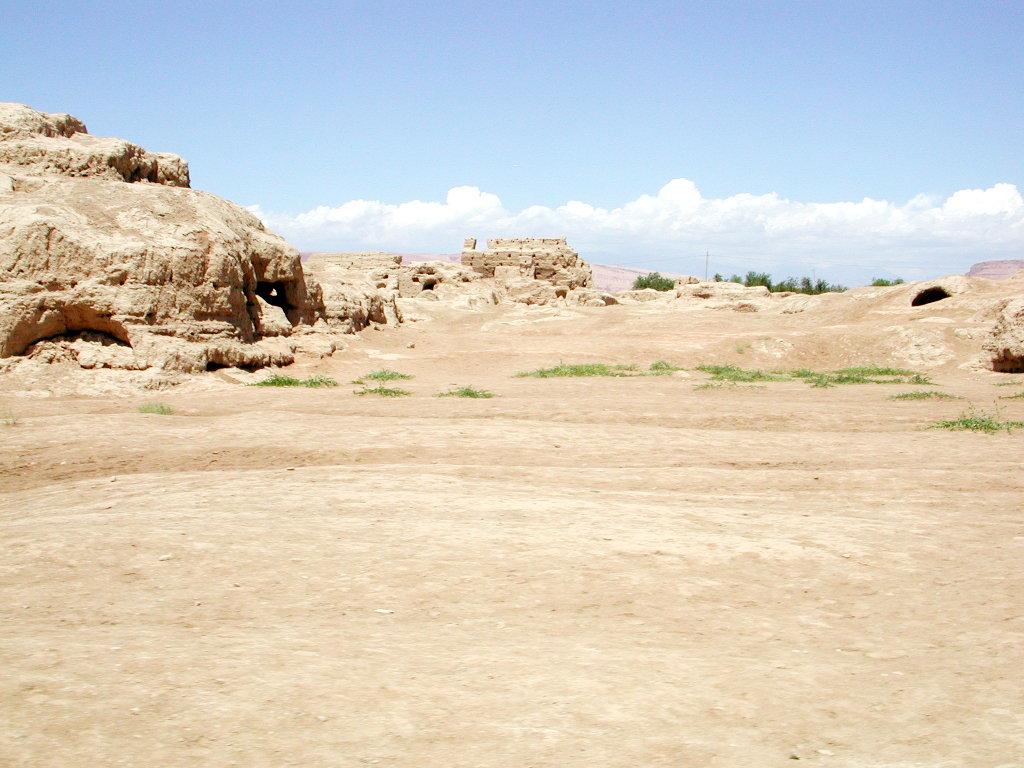 シルクロード一人旅「我的長征2006」その31・トルファン・高昌故城-3113