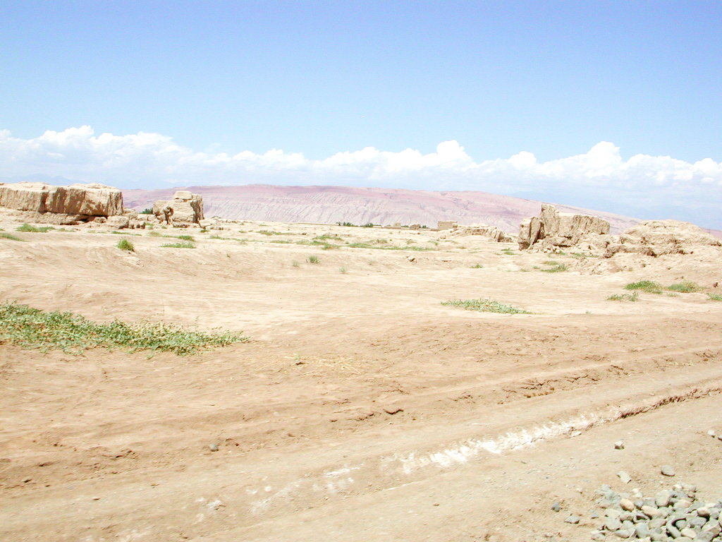 シルクロード一人旅「我的長征2006」その31・トルファン・高昌故城-3115