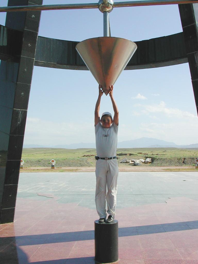 シルクロード一人旅「我的長征2006」その41・トルファンからウルムチへ-4124
