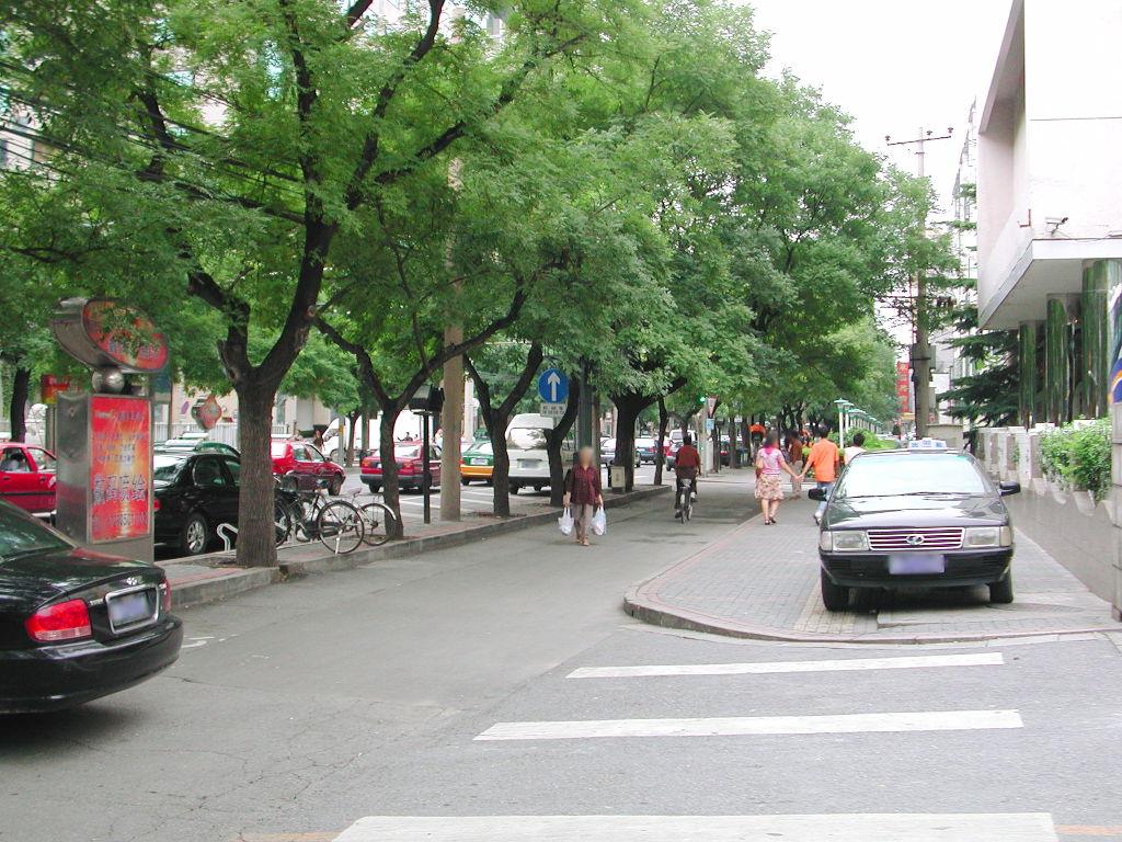 シルクロード一人旅「我的長征2006」その43・北京・王府井を歩く-4308