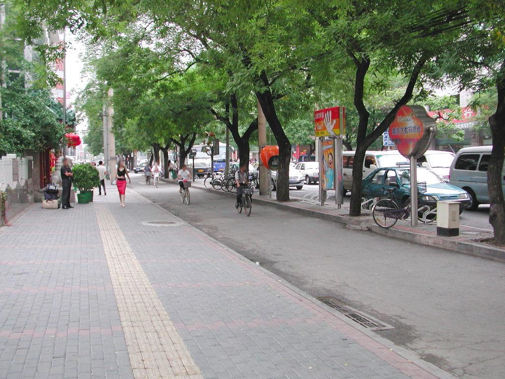 シルクロード一人旅「我的長征2006」その43・北京・王府井を歩く-4309