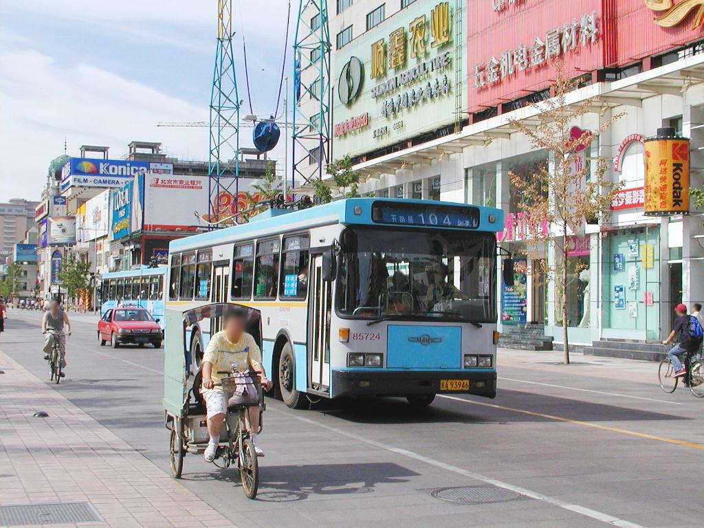 シルクロード一人旅「我的長征2006」その43・北京・王府井を歩く-4317
