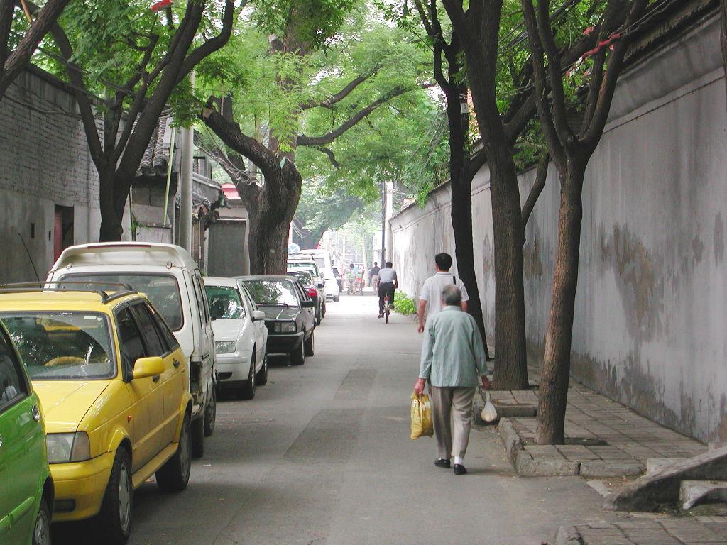 シルクロード一人旅「我的長征2006」その44・北京・故宮の周りを歩く-4406
