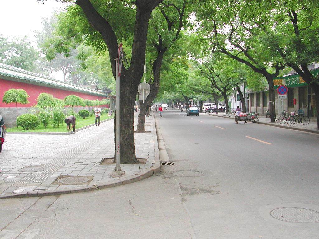 シルクロード一人旅「我的長征2006」その44・北京・故宮の周りを歩く-4408