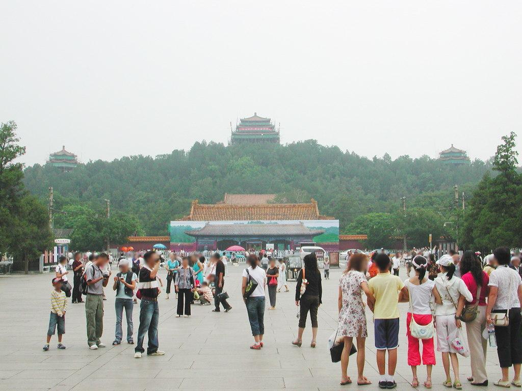 シルクロード一人旅「我的長征2006」その44・北京・故宮の周りを歩く-4418