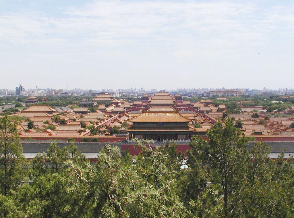シルクロード一人旅「我的長征2006」その44・北京・故宮の周りを歩く-4419