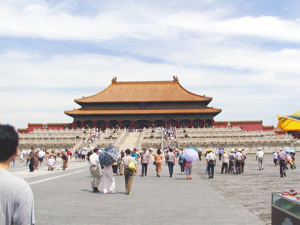 シルクロード一人旅「我的長征2006」その44・北京・故宮の周りを歩く-4420