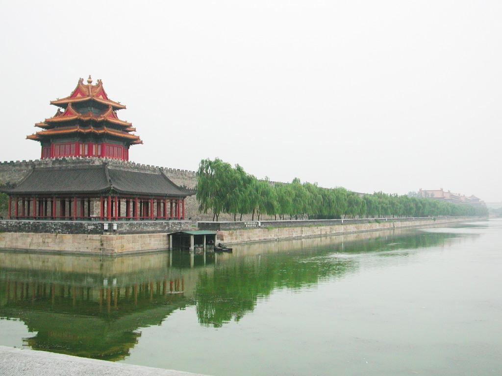 シルクロード一人旅「我的長征2006」その44・北京・故宮の周りを歩く-4421