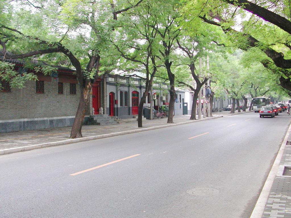 シルクロード一人旅「我的長征2006」その44・北京・故宮の周りを歩く-4425