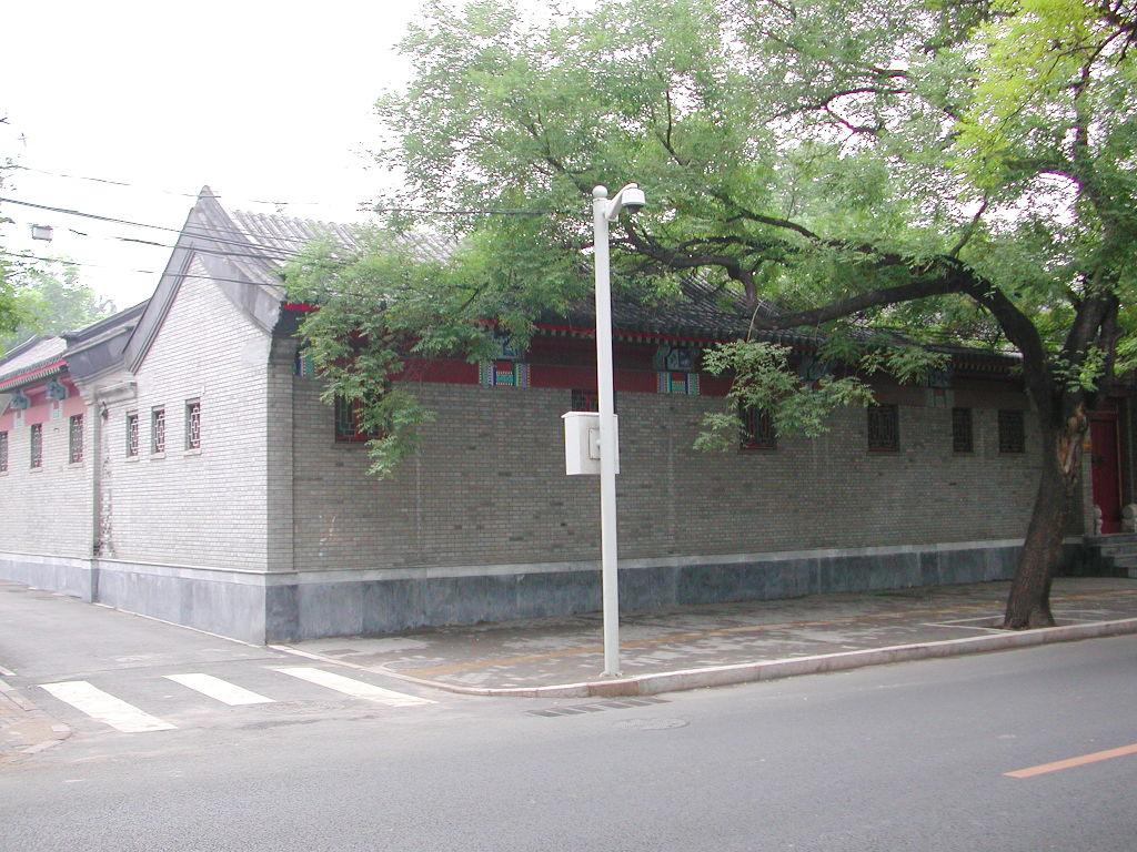 シルクロード一人旅「我的長征2006」その44・北京・故宮の周りを歩く-4426