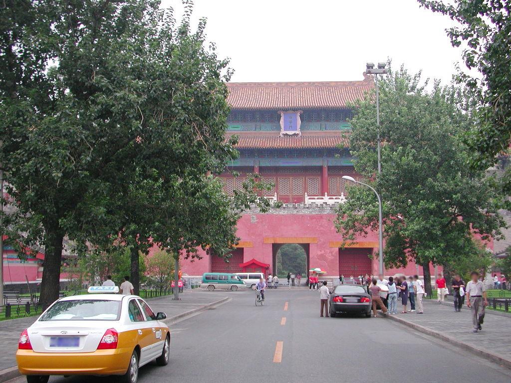 シルクロード一人旅「我的長征2006」その44・北京・故宮の周りを歩く-4428