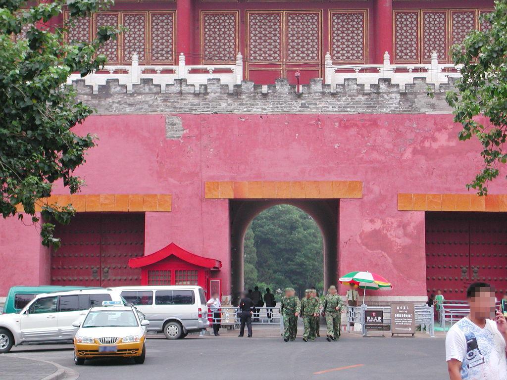 シルクロード一人旅「我的長征2006」その44・北京・故宮の周りを歩く-4429