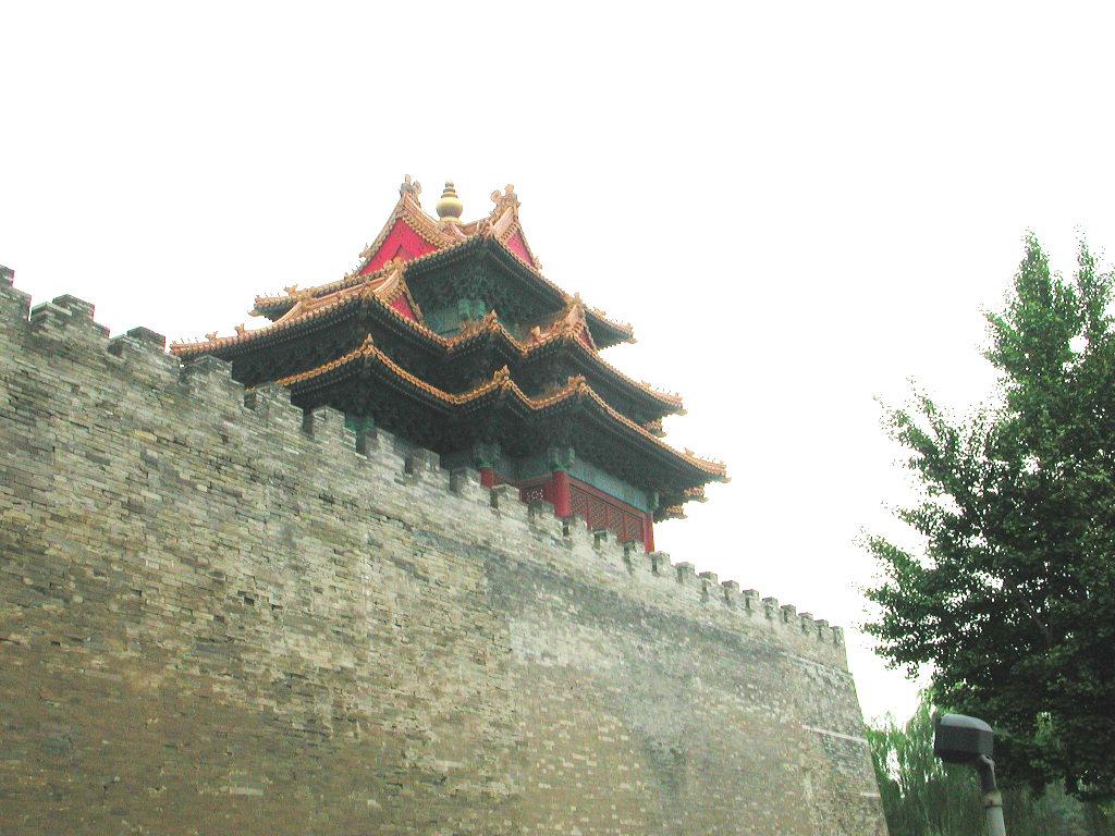 シルクロード一人旅「我的長征2006」その44・北京・故宮の周りを歩く-4431