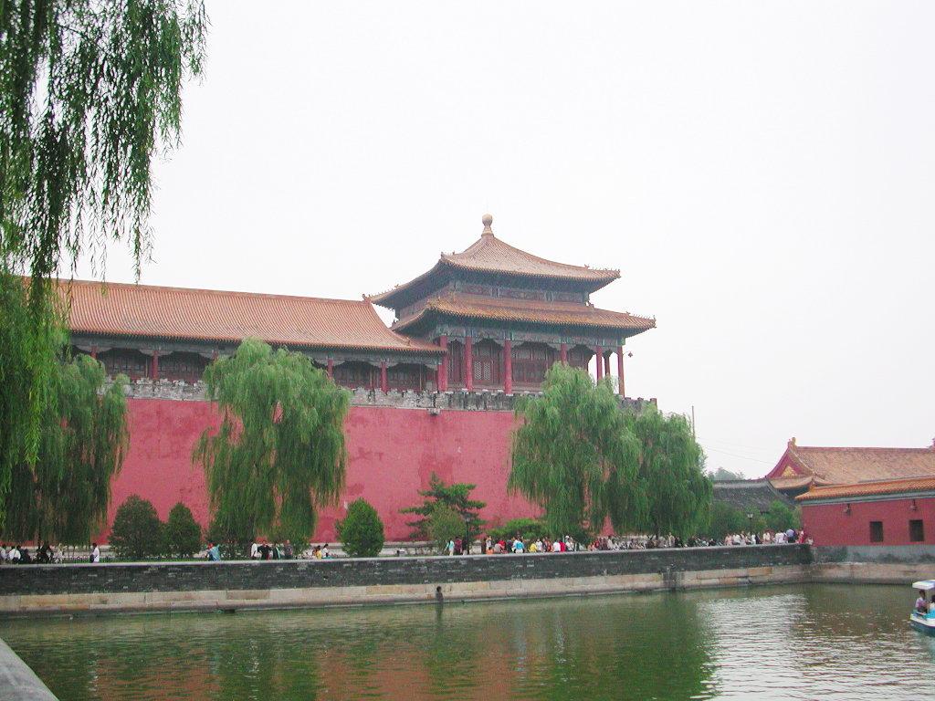 シルクロード一人旅「我的長征2006」その44・北京・故宮の周りを歩く-4434