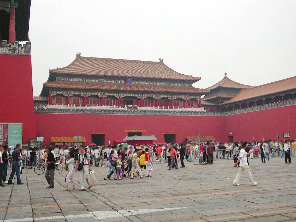 シルクロード一人旅「我的長征2006」その44・北京・故宮の周りを歩く-4435