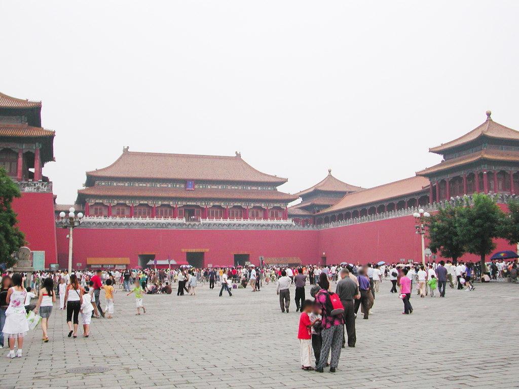 シルクロード一人旅「我的長征2006」その45・北京・天安門と南池子大街-4501