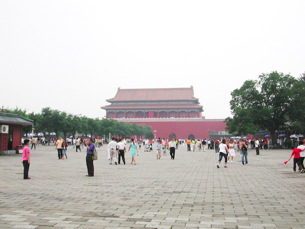 シルクロード一人旅「我的長征2006」その45・北京・天安門と南池子大街-4504