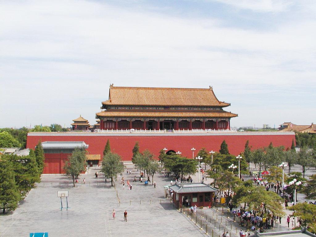シルクロード一人旅「我的長征2006」その45・北京・天安門と南池子大街-4505