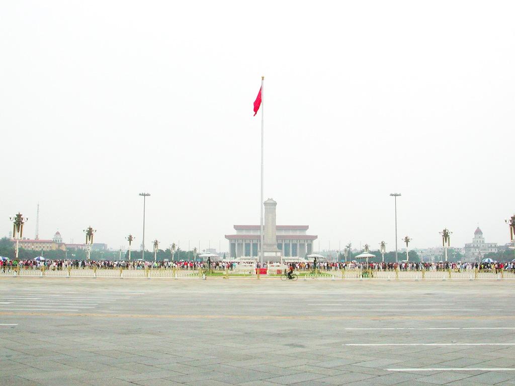 シルクロード一人旅「我的長征2006」その45・北京・天安門と南池子大街-4511