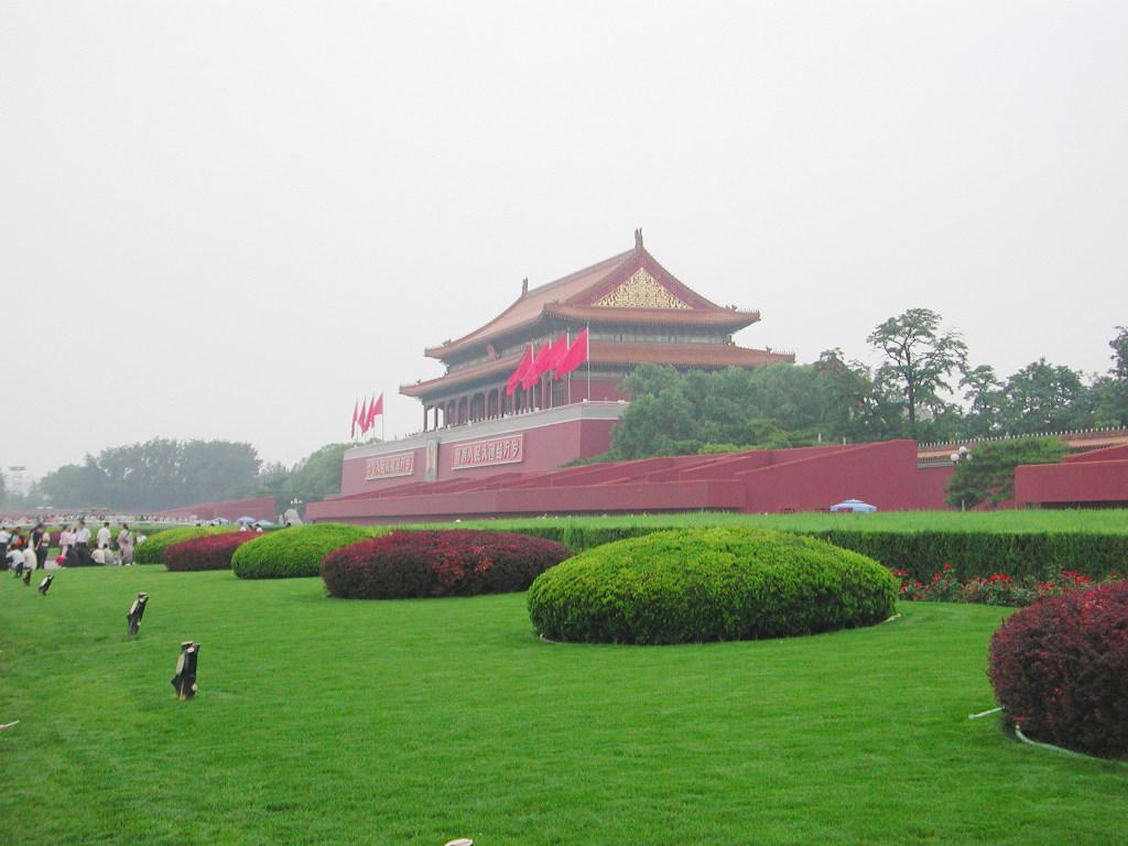 シルクロード一人旅「我的長征2006」その45・北京・天安門と南池子大街-4514