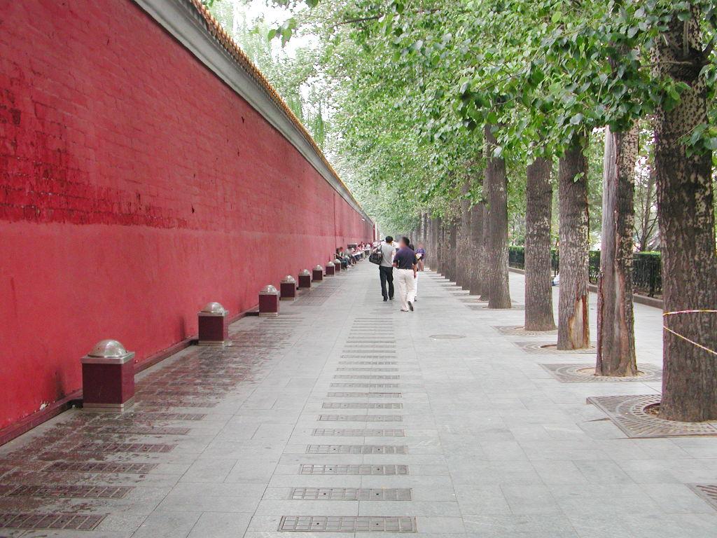 シルクロード一人旅「我的長征2006」その45・北京・天安門と南池子大街-4515
