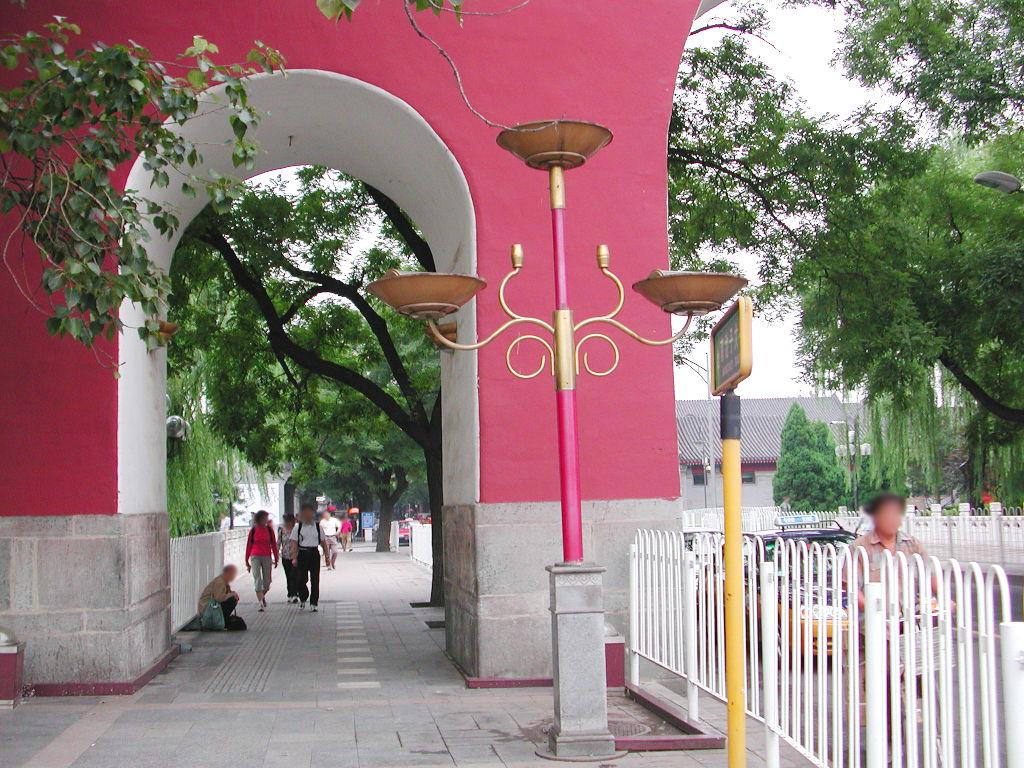 シルクロード一人旅「我的長征2006」その45・北京・天安門と南池子大街-4516