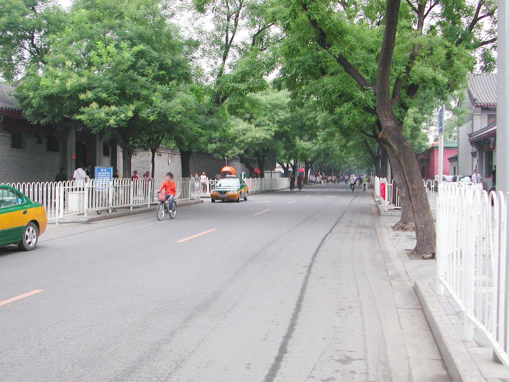 シルクロード一人旅「我的長征2006」その45・北京・天安門と南池子大街-4518