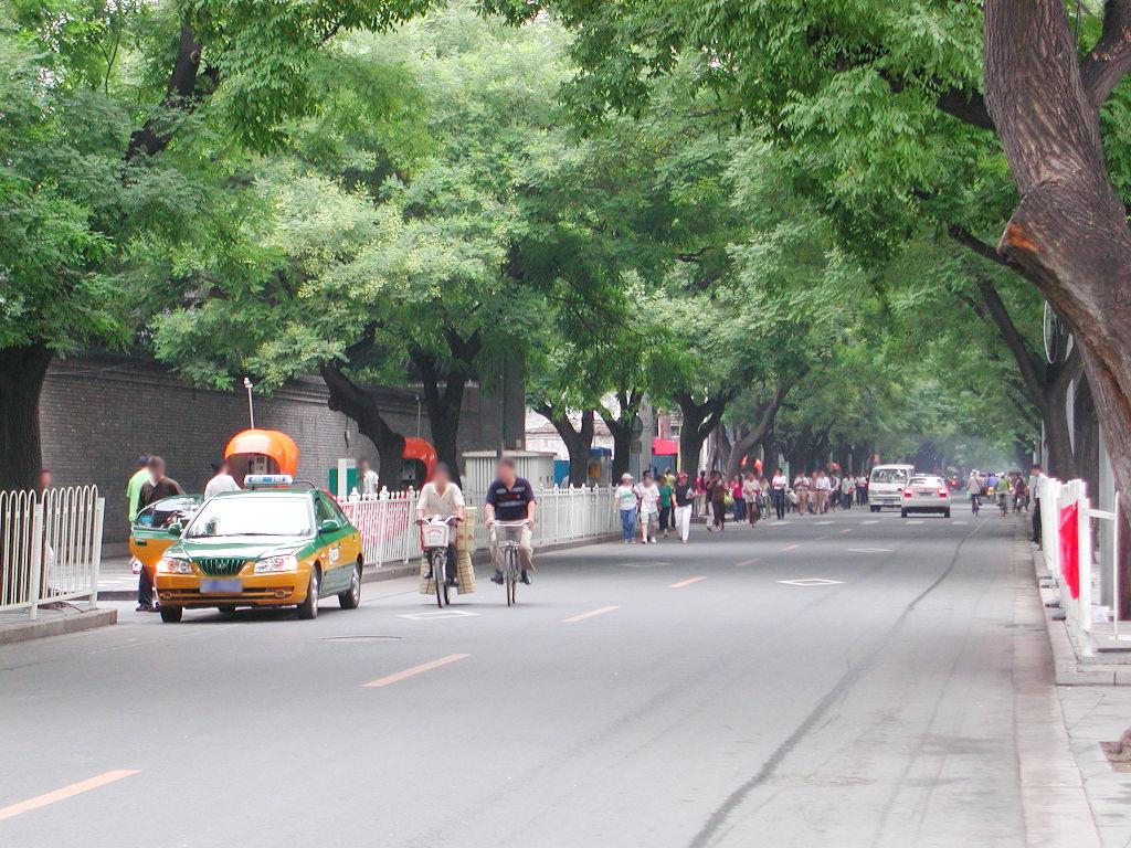 シルクロード一人旅「我的長征2006」その45・北京・天安門と南池子大街-4519