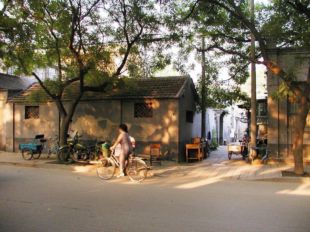 シルクロード一人旅「我的長征2006」その45・北京・天安門と南池子大街-4521