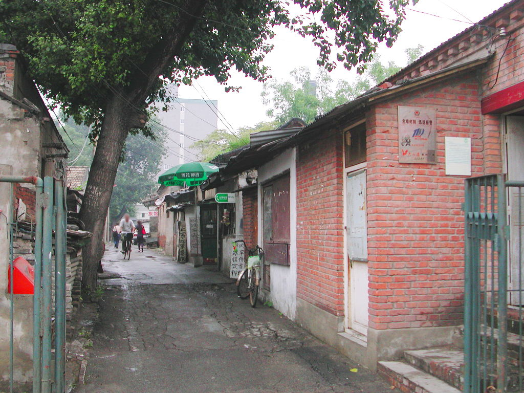 シルクロード一人旅「我的長征2006」その46・北京・王府井で食事-4616