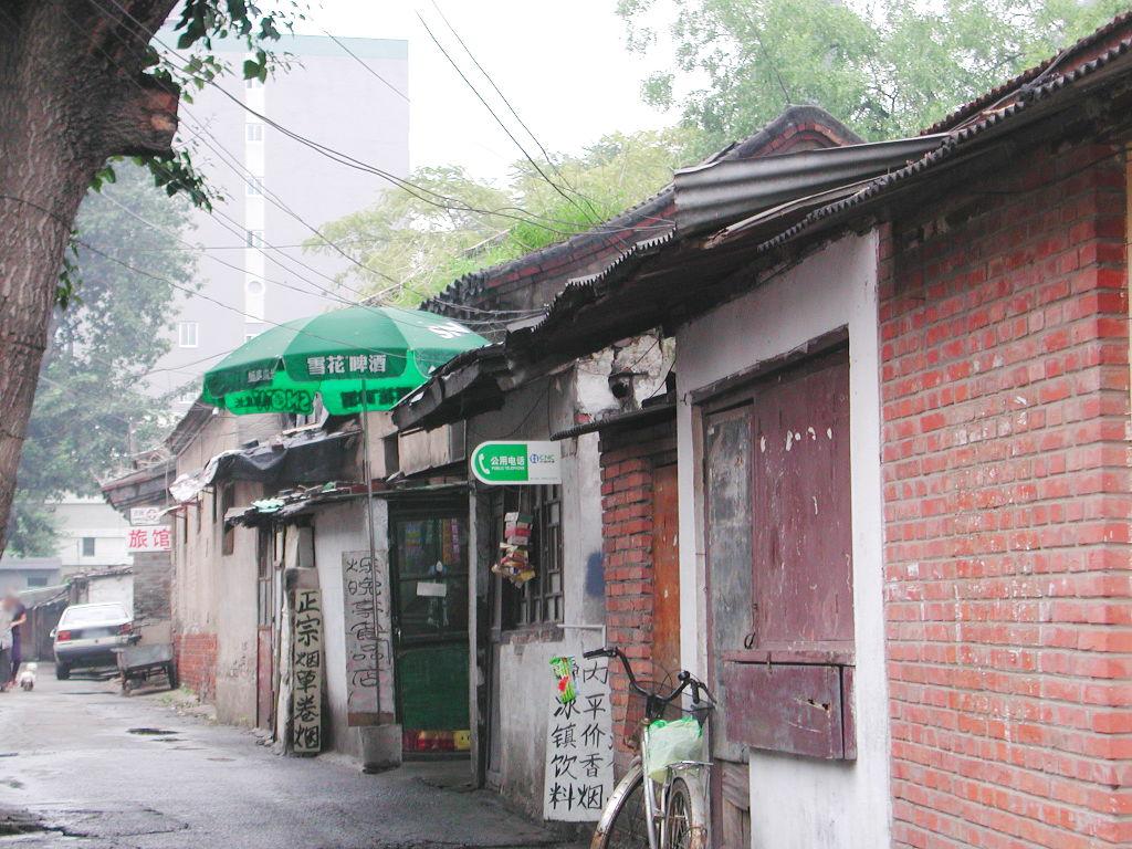 シルクロード一人旅「我的長征2006」その46・北京・王府井で食事-4617
