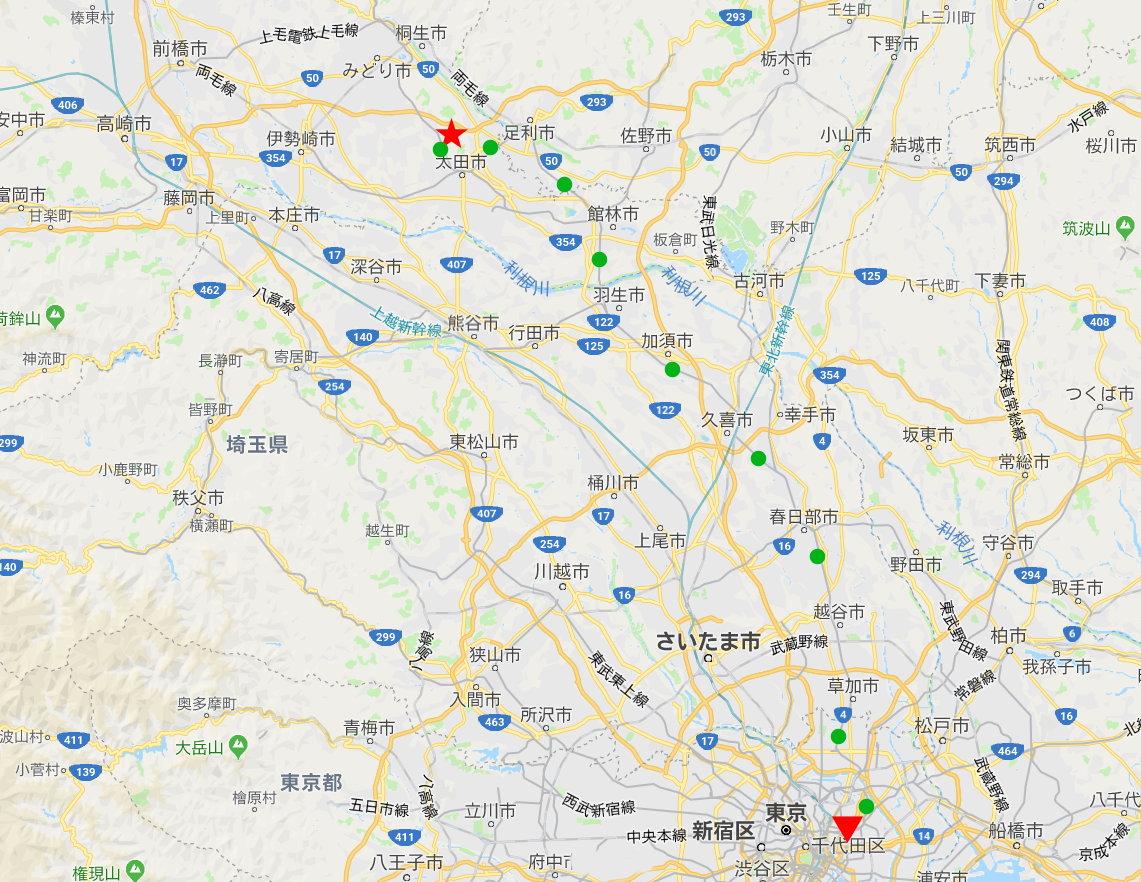 東武伊勢崎線治良門橋駅・かわとみのなすの蒲焼重2013-1101