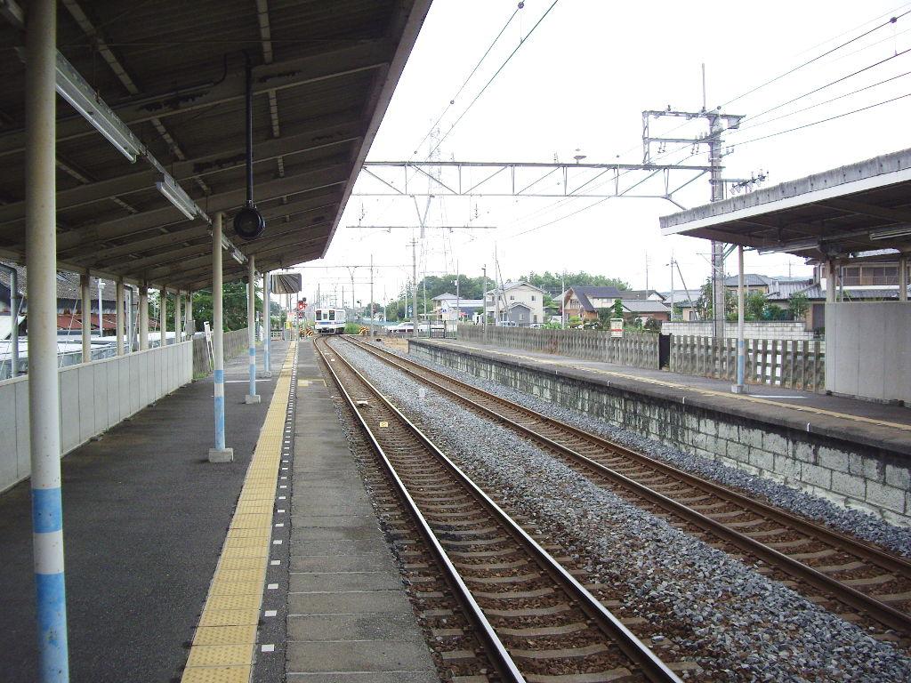 東武伊勢崎線治良門橋駅・かわとみのなすの蒲焼重2013-1108