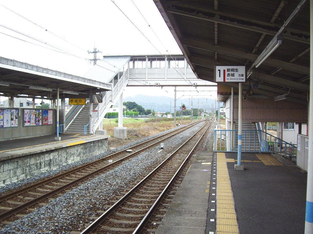 東武伊勢崎線治良門橋駅・かわとみのなすの蒲焼重2013-1109
