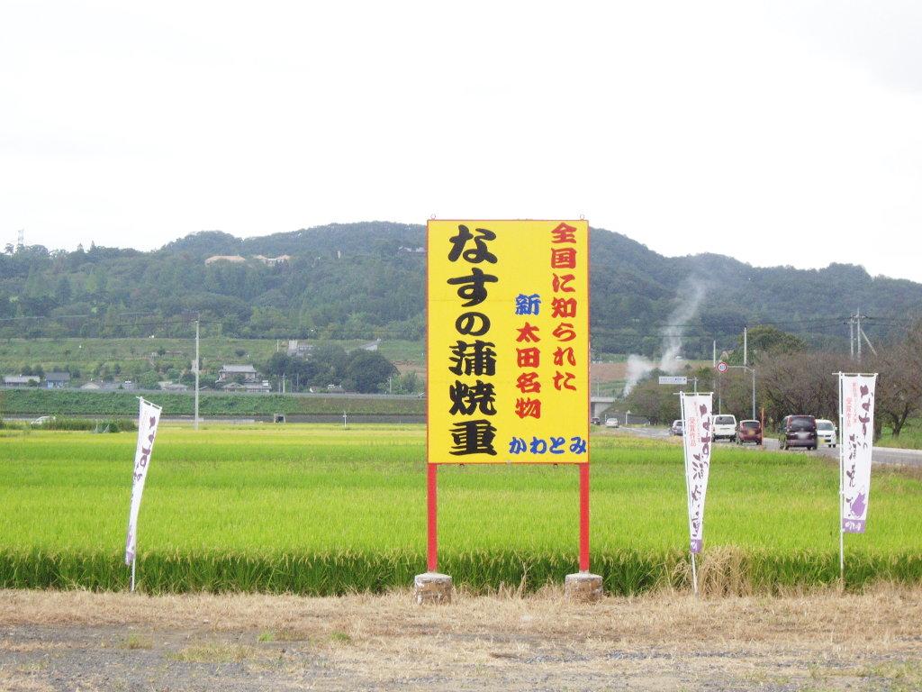 東武伊勢崎線治良門橋駅・かわとみのなすの蒲焼重2013-1123